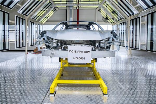 领克ZERO concept白车身成功下线 量产车2021年下半年上市