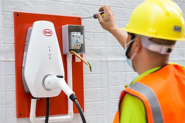 比亚迪推充电桩终身免费升级安装服务 2021唐和汉车型专享