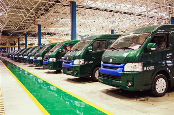吉利远程E6纯电动封闭货车交付中国邮政 首批71台发往全国