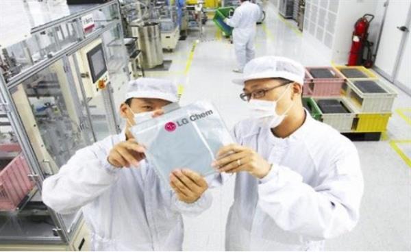 满足特斯拉需求  LG化学中国电池厂明年产能将提升1倍