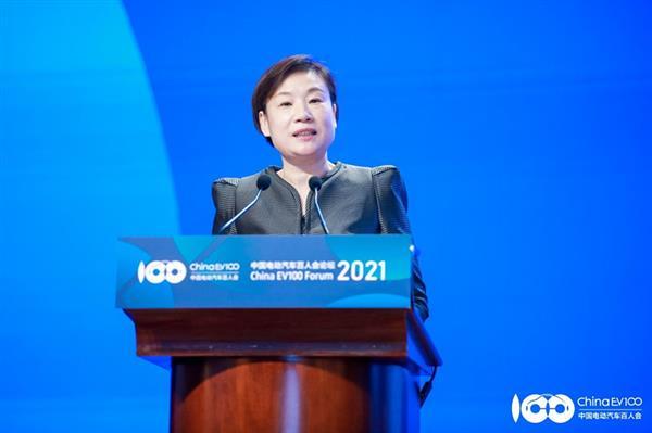 工信部国际经济技术合作中心主任郑红就中英新能源领域合作提出3点建议