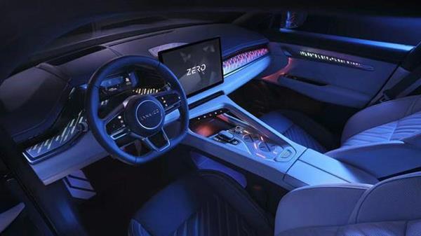 特斯拉的赛车方向盘不香了?领克ZERO concept内饰科技感爆棚