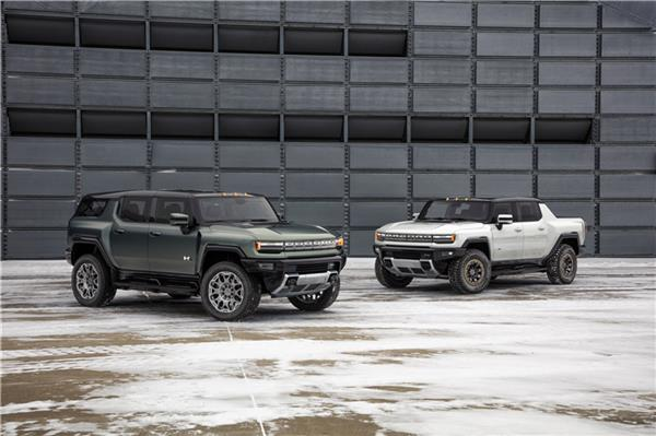 2024款GMC HUMMER纯电动SUV全球首发