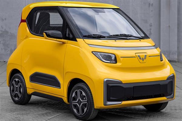 上汽通用五菱NanoEV车型正式曝光 五菱版宝骏E200车型
