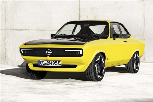 欧宝推出曼塔GSe ElektroMOD概念车 复古与电动结合
