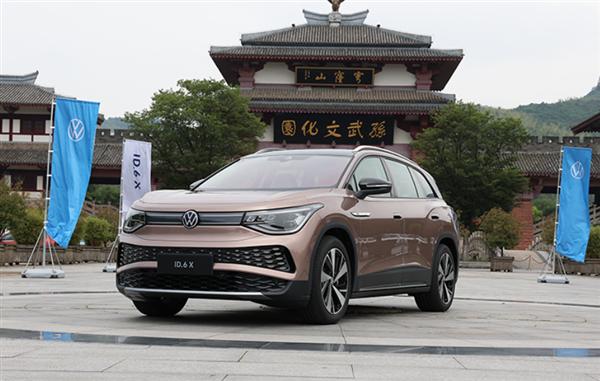 定位中大型纯电SUV 上汽大众ID.6 X将于6月17日上市