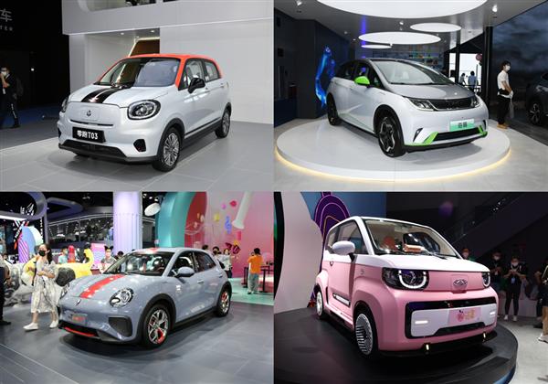 精致实用颜值高 成都车展最个性新能源车盘点