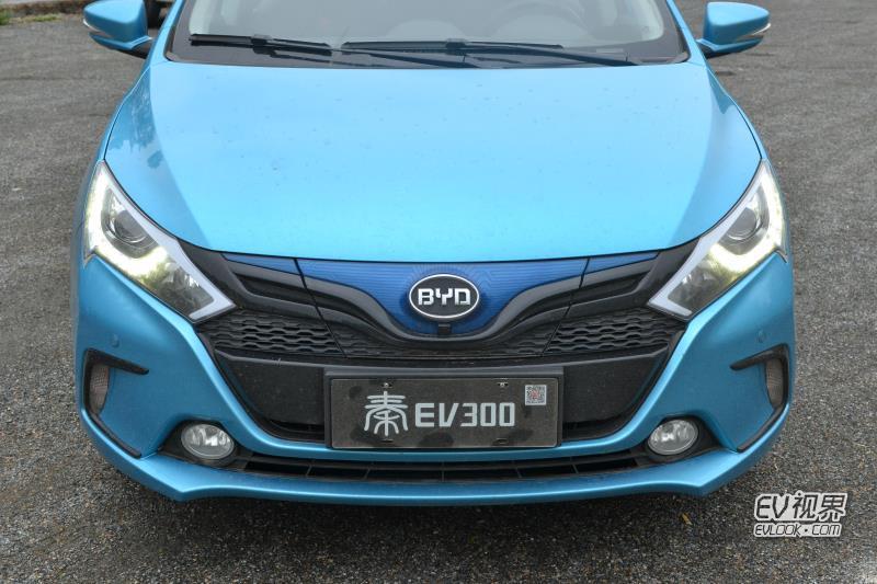 比亞迪秦EV300 圖片