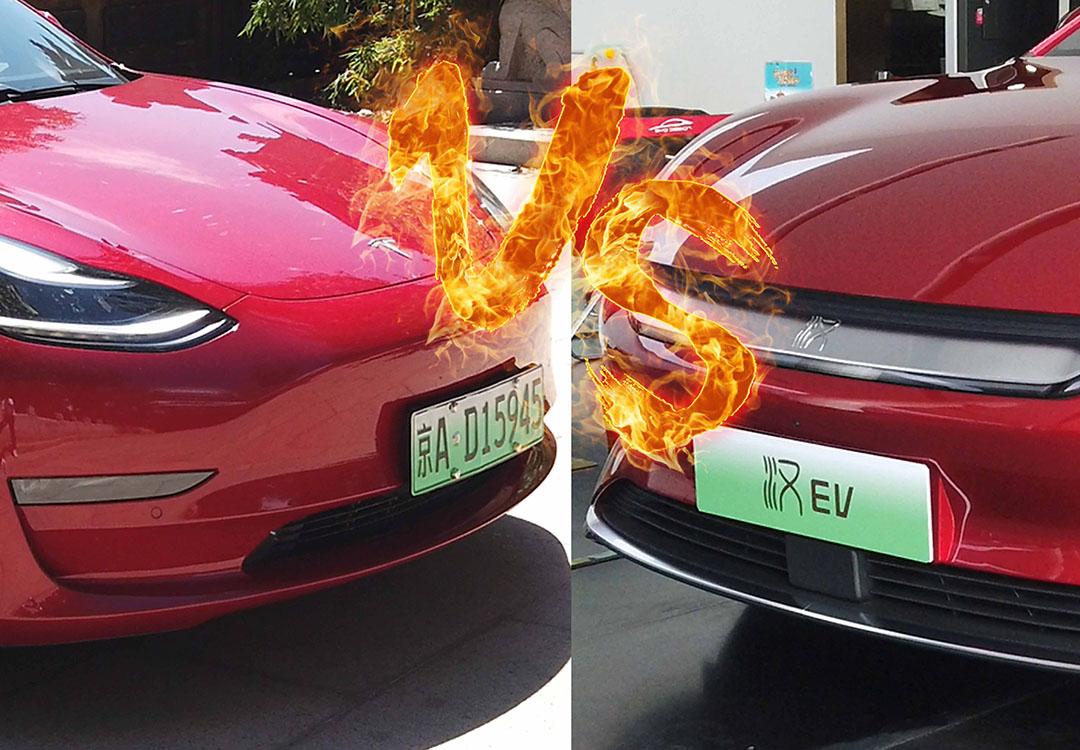 王者局 比亚迪汉强势来袭 老牌悍将Model 3失宠了?