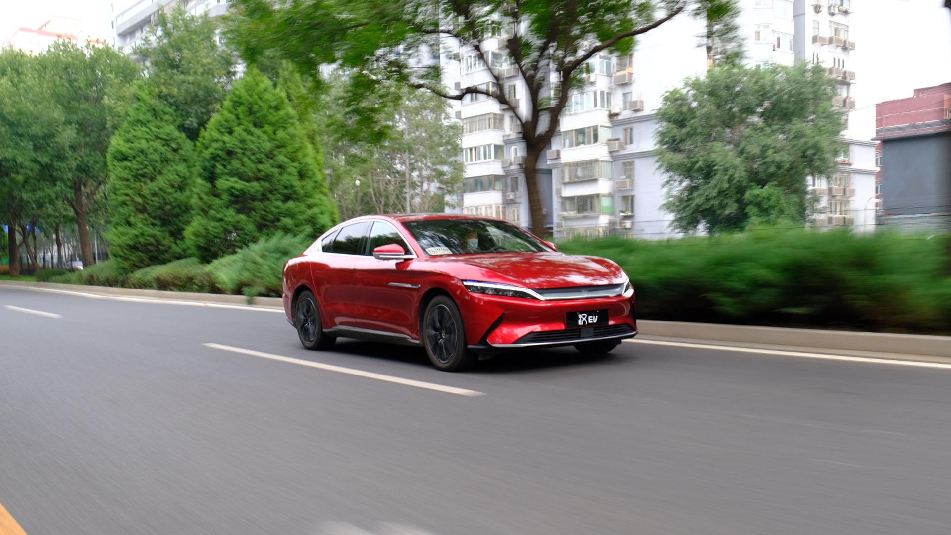 比亚迪汉EV 四驱高性能版续航测试