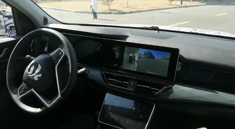 威马W6 自动驾驶演示一