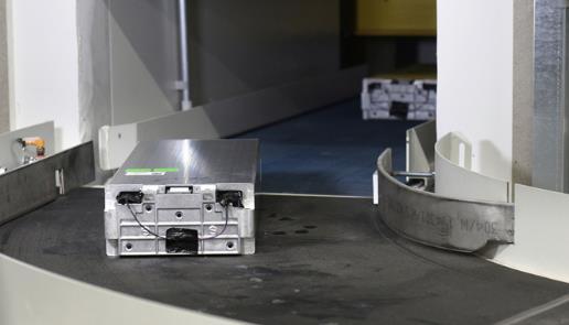 大众动力电池回收流程演示