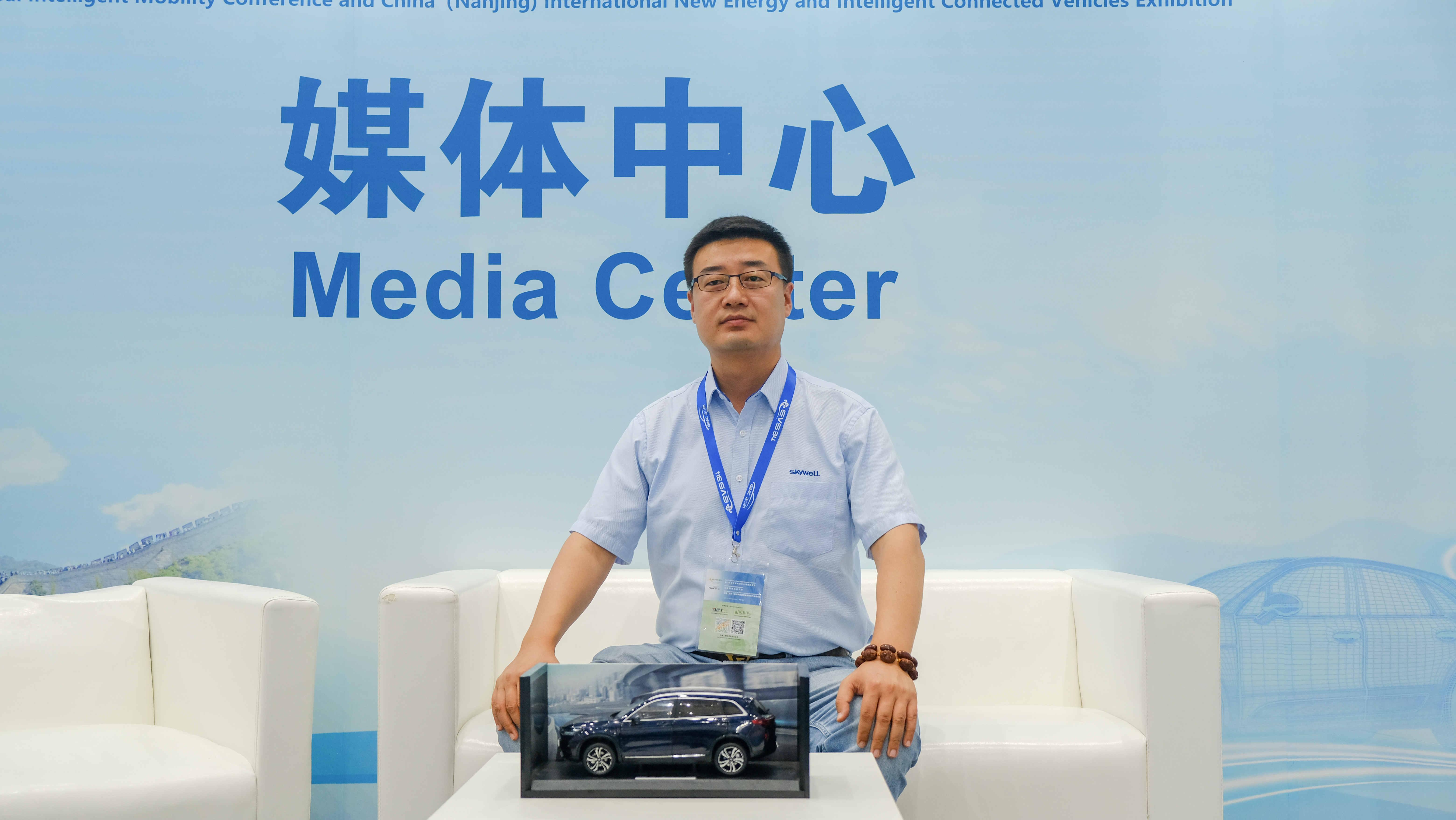 EVS34专访:创维汽车销售总监鲍胜兵